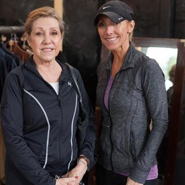 Mari Luz y Mari Calvet