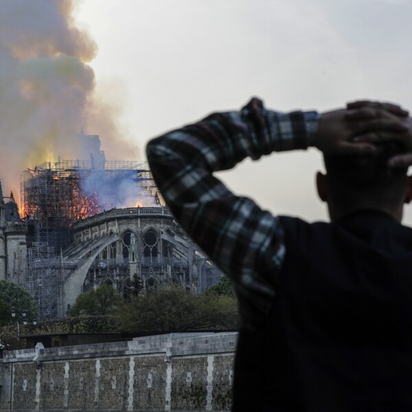 Incendio Notre Dame-