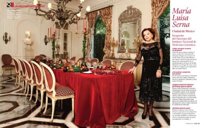 Mujeres de sociedad nos dan sus secretos para tener una excelente mesa navideña.