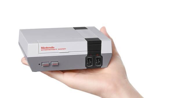 La versión mini del Nintendo Entertainment System llegará a tiendas en noviembre próximo.