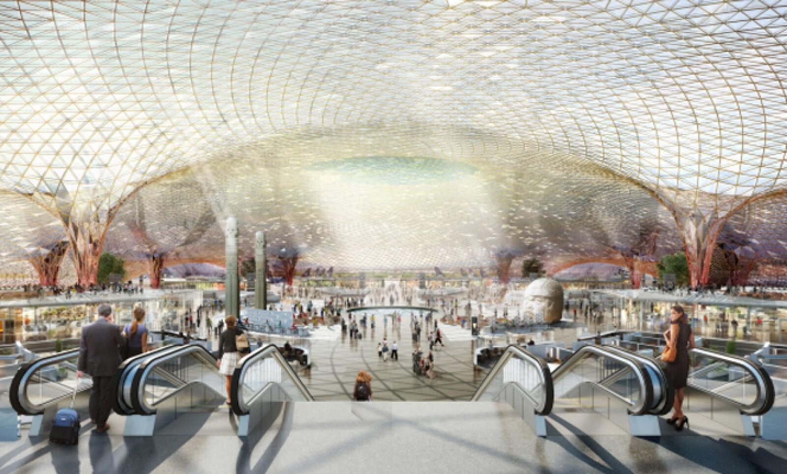 La nueva terminal aérea, que requiere una inversión de 120,000 millones de pesos, tiene como objetivo aumentar las operaciones y atender la creciente demanda de pasajeros.