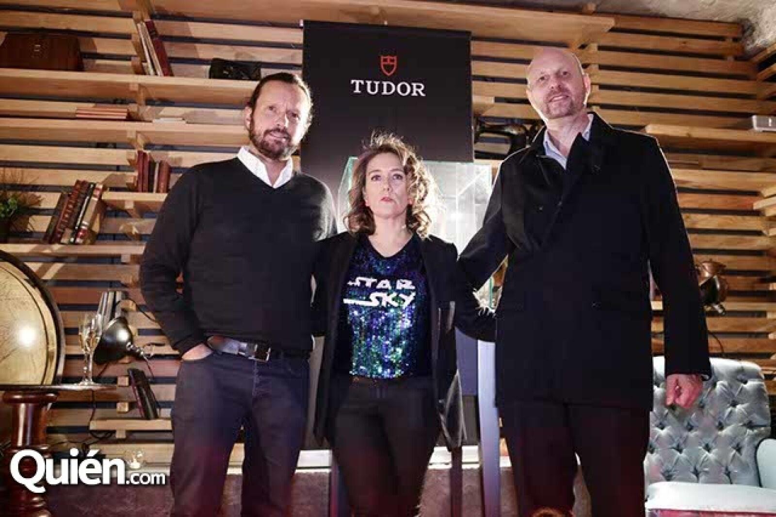 Eduardo Prieto,Caroline Muyl y Rubén Marshall