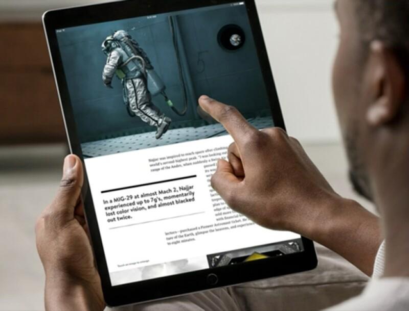 El iPad Pro es el gadget con la pantalla más grande en la historia de Apple.