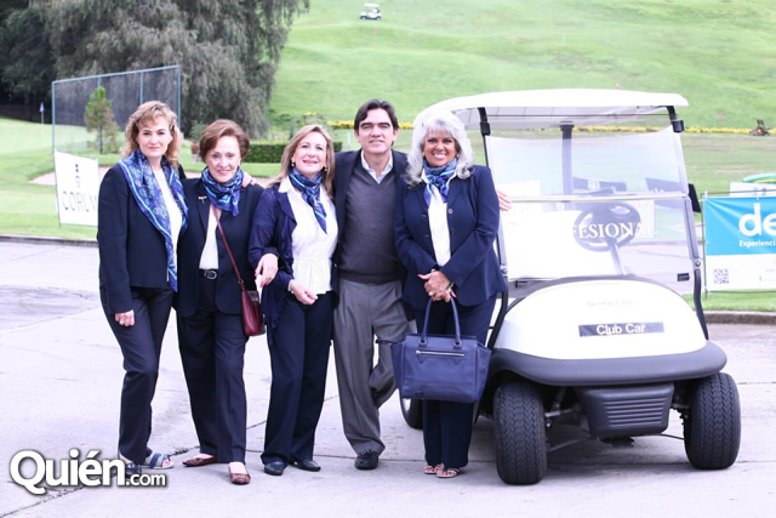 Maricarmen Cuetara,Eugenia Ahumada,Mally Jiménez O´farril,Jorge Ahumada,Sabrina Infante