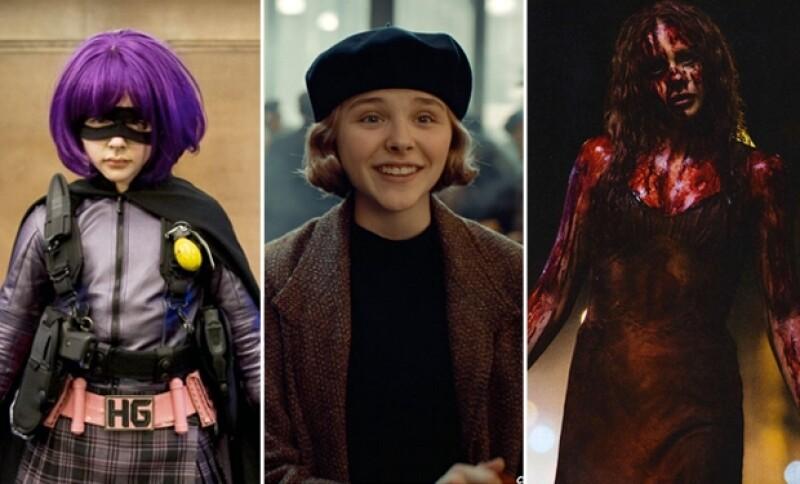 Estos son algunos de los personajes que ha interpretado la joven actriz.