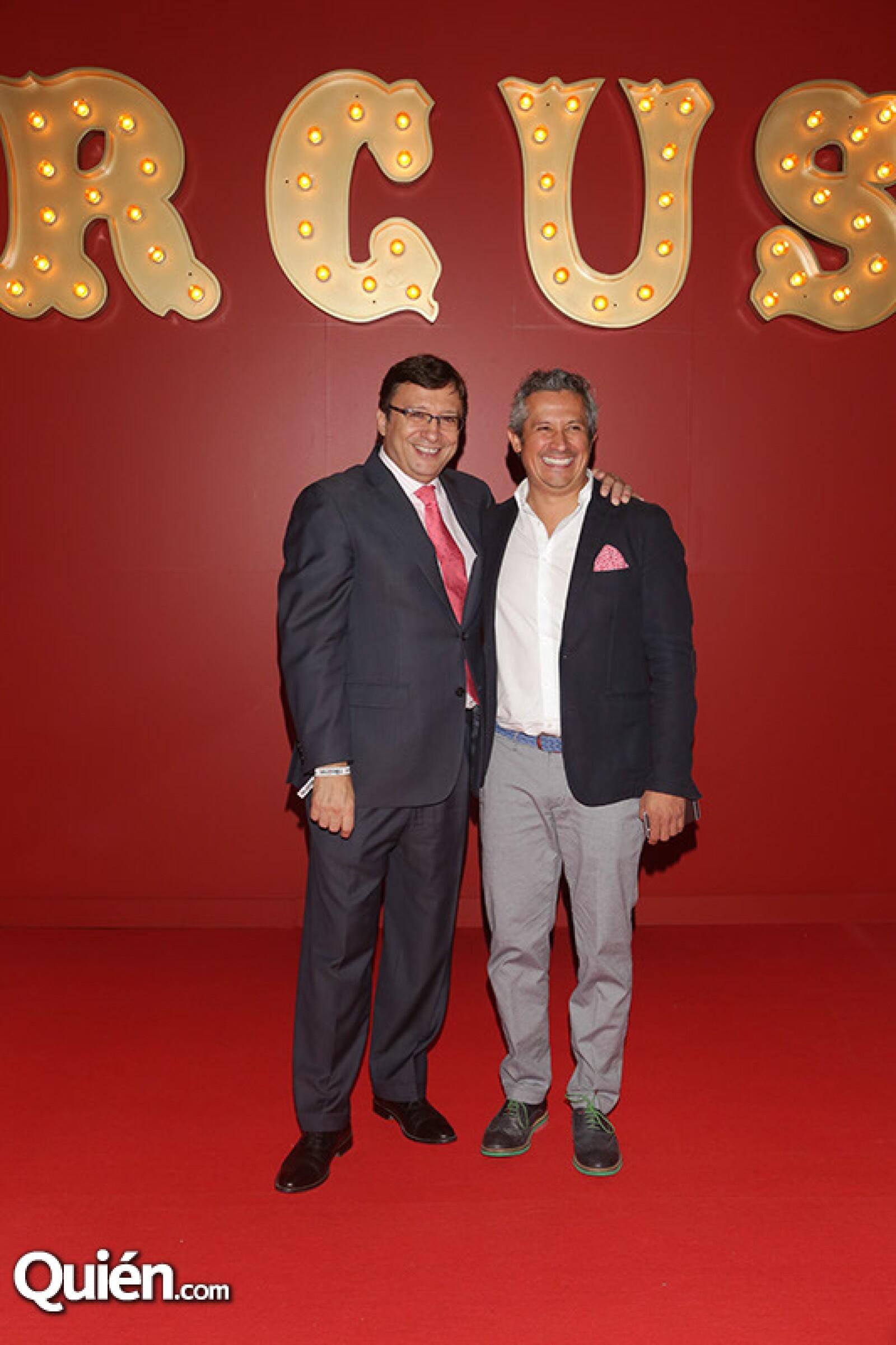 Manuel Quintanero y Mauricio Galeano