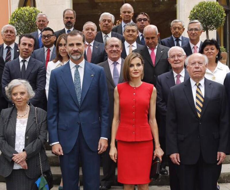 Elena Poniatowska, Miguel Alemán Velasco, Emilio Azcárraga Jean, Alejandro Ramírez, Ricardo Salinas Pliego y María Asunción Aramburuzabala están entre los invitados.