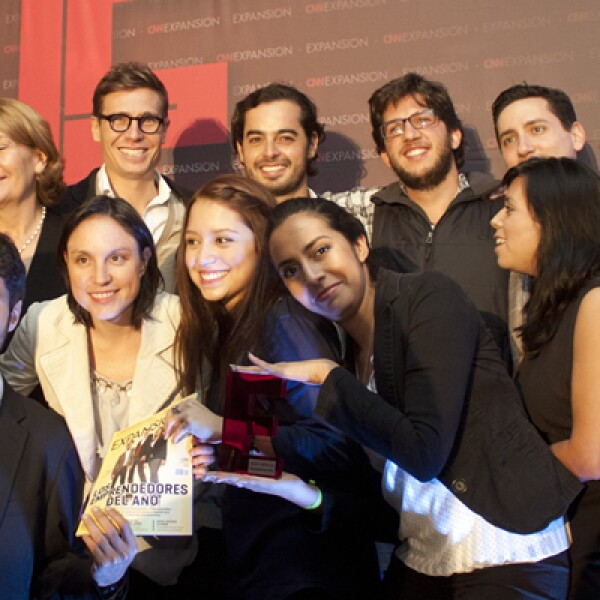 Luego de la premiación, ganadores y finalistas aprovecharon para celebrar por los grandes cambios que han conseguido llevar a cabo en México.