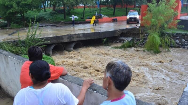 Monterrey inundaciones