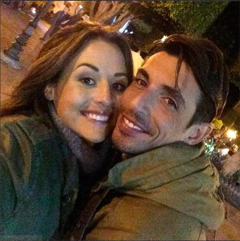 Zuria Vega y Alberto Guerra.