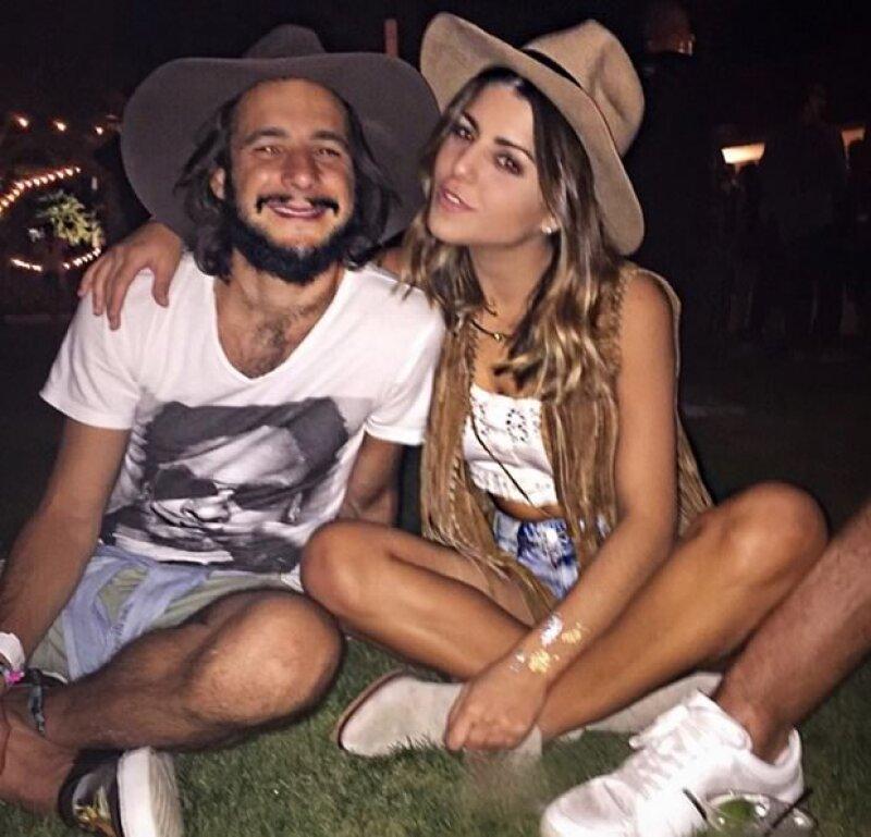 Jacobo Fasja y Nicole Helfon