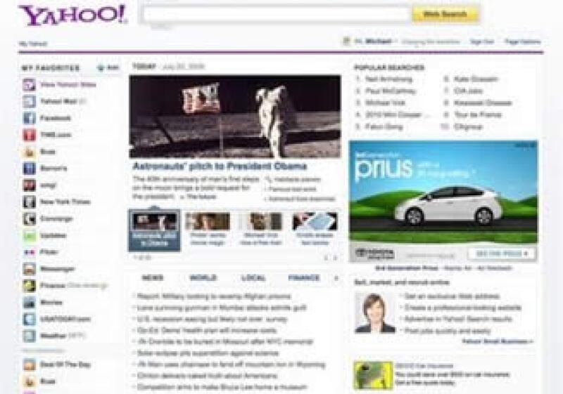 Yahoo! estrena nueva imagen para ganar mercado en la Red. (Foto: AP)