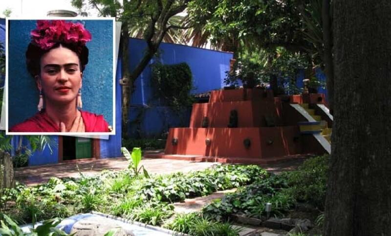 Interior de la Casa Azul de Frida.