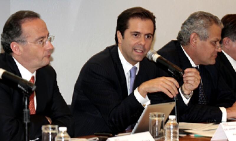 El presidente de la ABM, Alberto Gómez Alcalá, dijo que es necesario brindar certeza jurídica para mantener altos niveles de inversión.  (Foto: Notimex)
