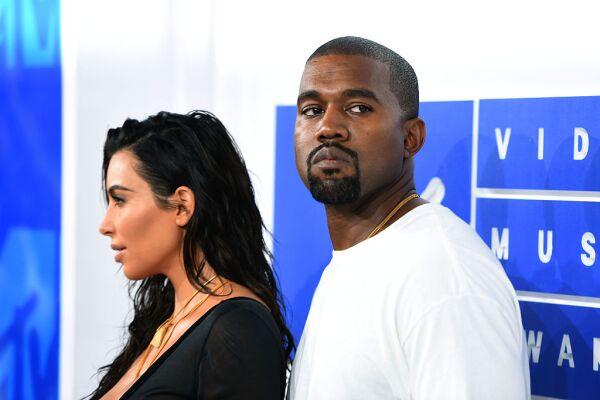Kim Kardashian West y Kanye West