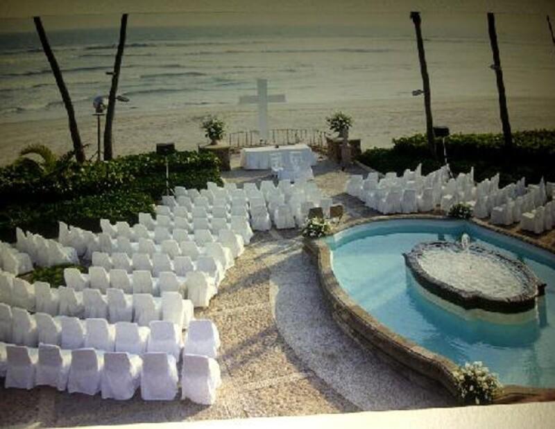 La conductora compartió fotografías del lugar donde se llevó a cabo el enlace matrimonial.