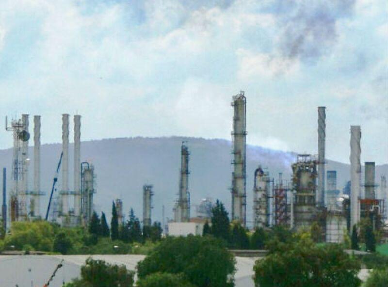 refiner�a de Pemex en Hidalgo