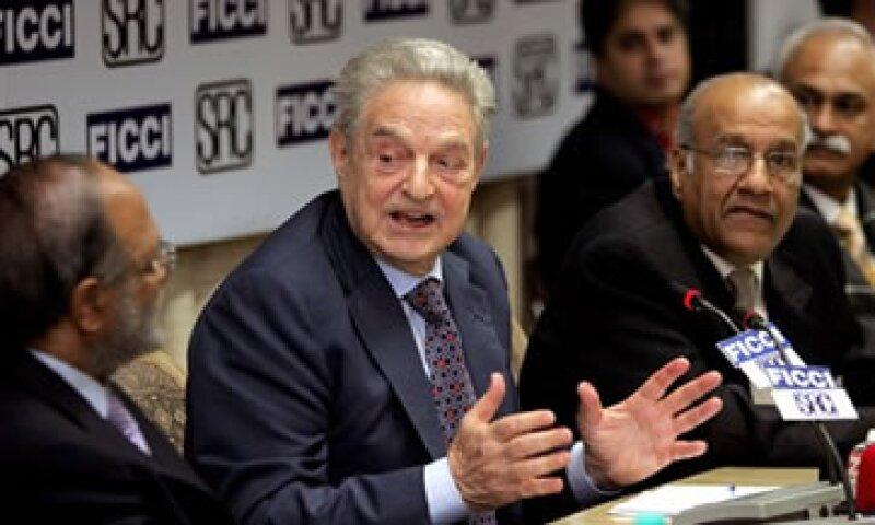 Soros alertó de fuertes consecuencias en el caso de un colapso del euro. (Foto: AP)