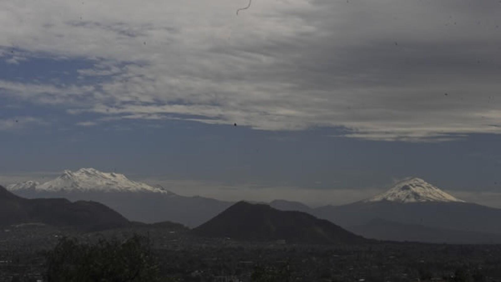 Imagen del volcan Popocatepetl