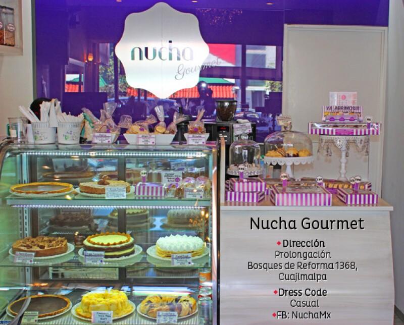 Nucha Gourmet, la cafetería artesanal con desayunos, postres y jugos llegó a un cálido lugar al poniente de la Ciudad, ideal para iniciar el día.