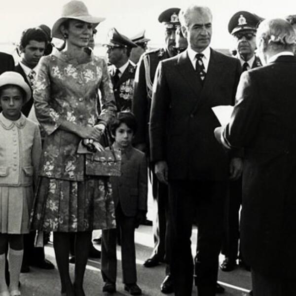 Sha de Irán - visita