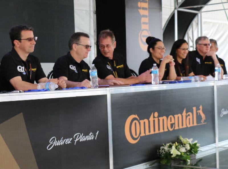 presentaci�n de Continental en su planta de Ciudad Ju�rez