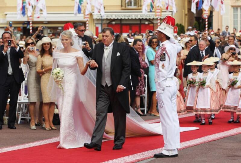 Fue en julio del 2002 cuando Michael Wittstock entregó a su hija para casarse.