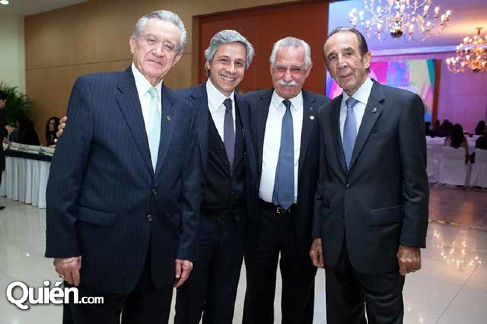 Eduardo Familiar,Claudio X. González,Jorge Villalobos y Manuel Arango