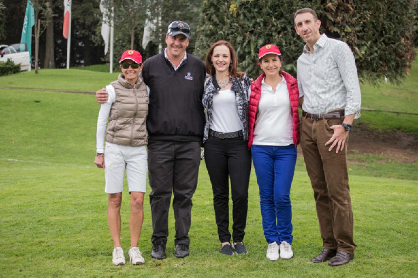 Mónica Hernández, Alejandro Padilla, Alida Padilla, Gloria Borges y Marco Cannizzo