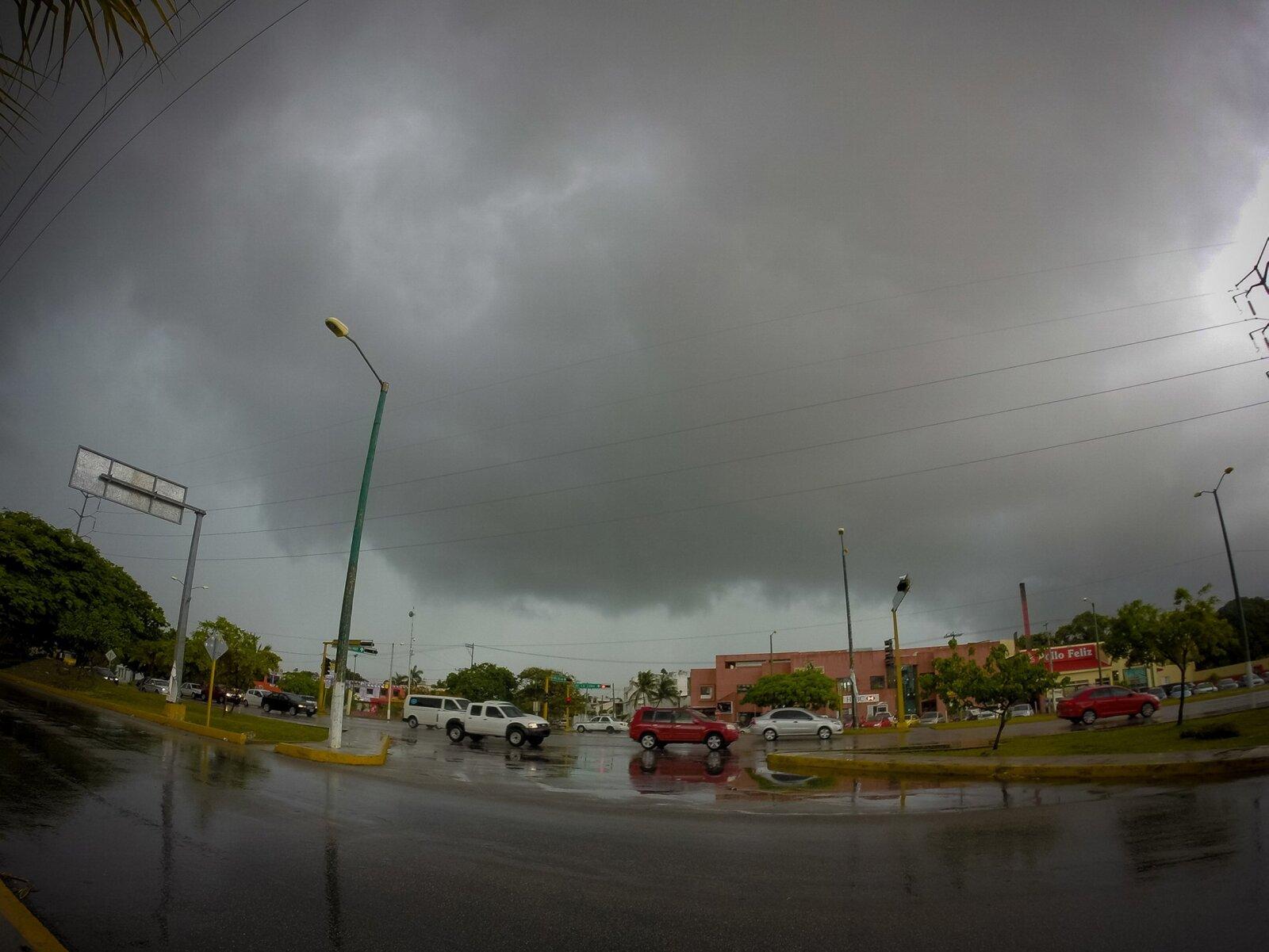 México con lluvias