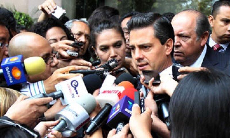 Enrique Peña Nieto propuso mantener la estabilidad macroeconómica ante el Consejo Coordinador Empresarial. (Foto: Notimex)