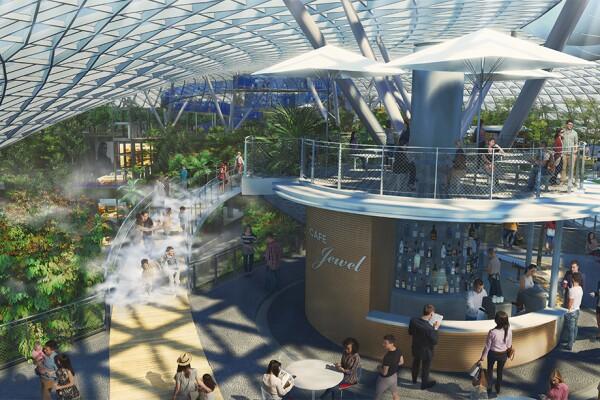 Aeropuerto - Jewel - tiendas