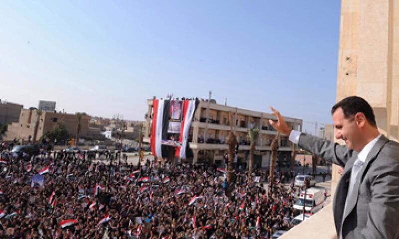 La UE quiere criticar el estilo de vida del clan del presidente Bashar al Assad. (Foto: AP)