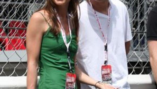 La hija de la princesa Carolina acudió al Gran Premio de Mónaco celebrado este fin de semana junto con su novio, Alex Dellal, en donde fue la encargada de entregar algunos reconocimientos.