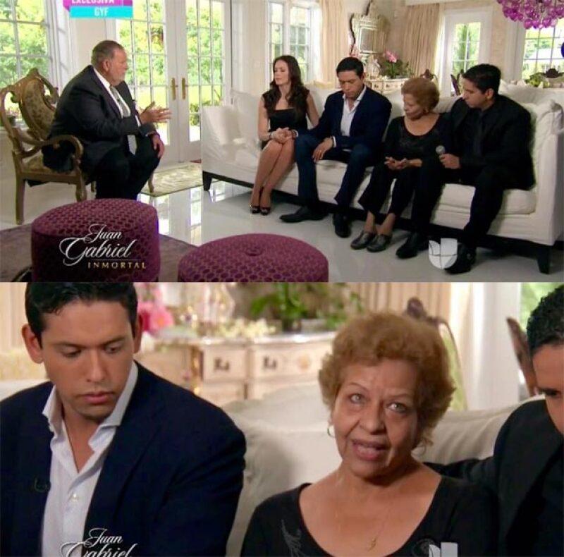 """La familia apareció en el programa del """"Gordo y la flaca"""" explicando lo que harán con el cuerpo de su padre."""