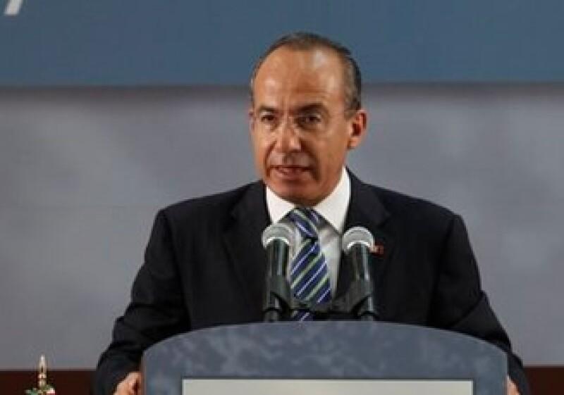 El presidente Felipe Calderón anunció los avances de su Gobierno en el último año. (Foto: AP)