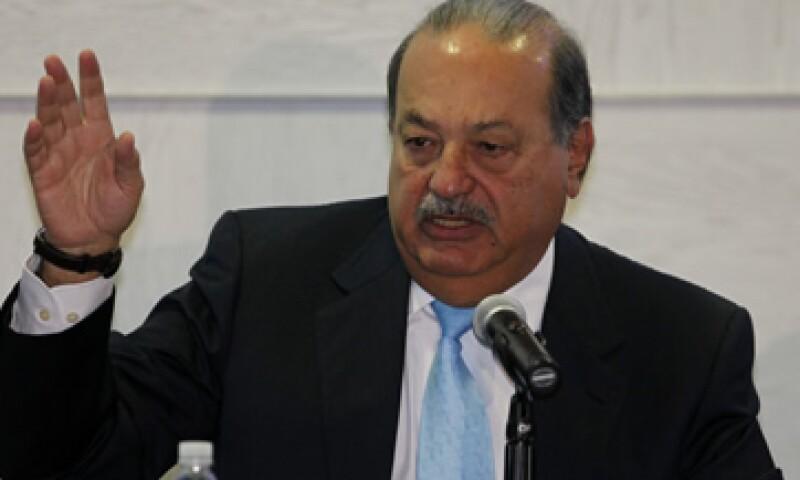 Carlos Slim Helú cuestionó el estudio presentado por la OCDE esta semana. (Foto: AP)