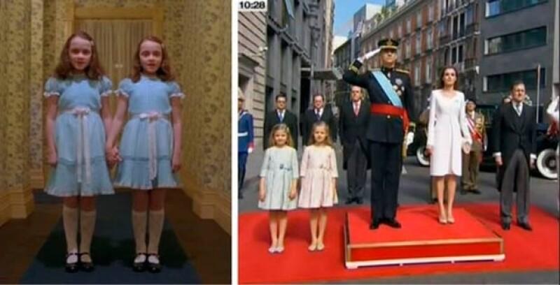 Sofía y Leonor también fueron parte de las divertidas imágenes.