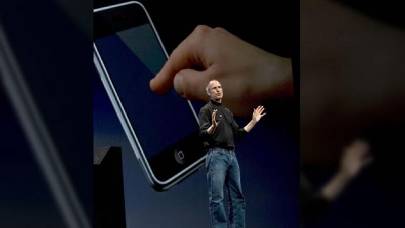 Steve Jobs 2007 primer iphone