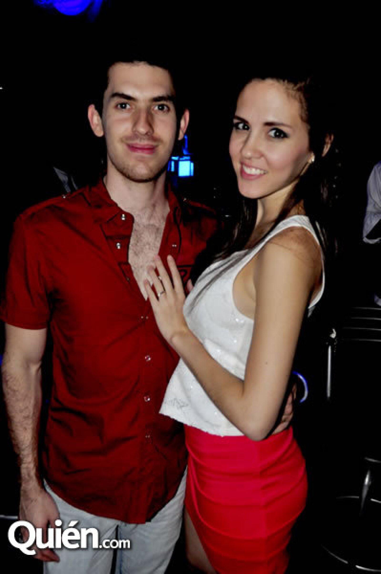 Alfredo Rodríguez y Ana Gaby Peña
