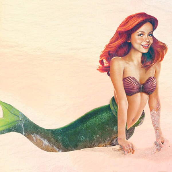 Sirenita o Little Mermaid.