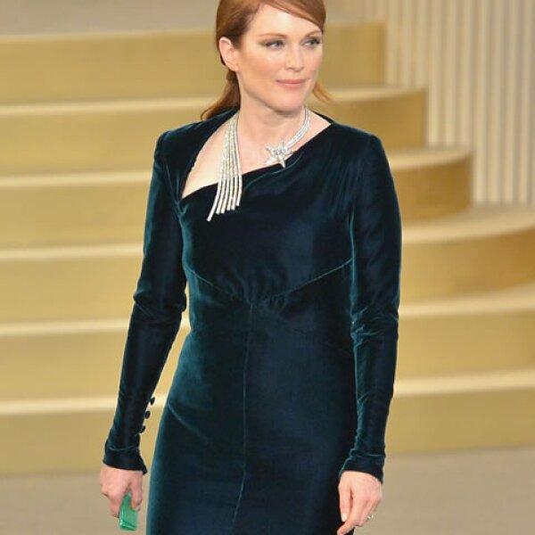 Julianne Moore es sinónimo de elegancia y porte en todo momento. Una pelirroja de 54 años que continúa enamorando Hollywood.
