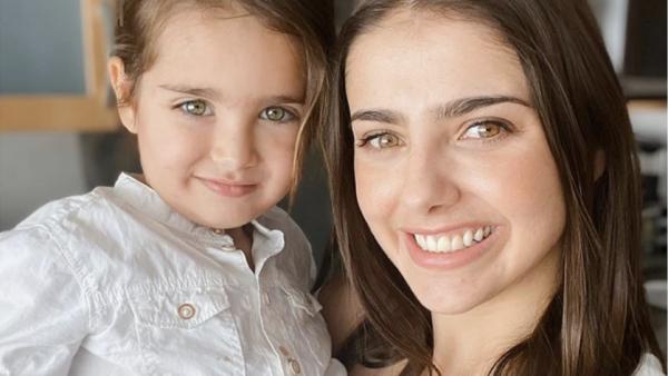 Michelle Renaud y su hijo Marcelo