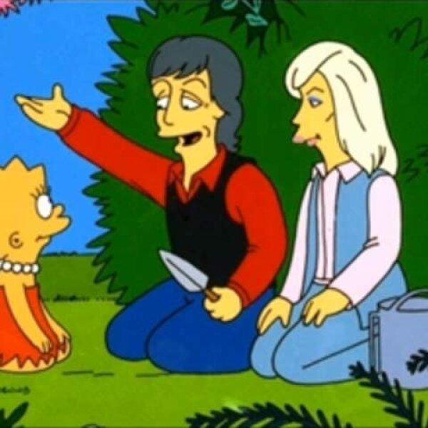 Paul y Linda McCartney.