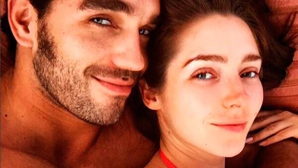 La pareja se encuentran en la ciudad natal de la actriz, donde además de disfrutar de un merecido descanso están pasando tiempo con su familia.