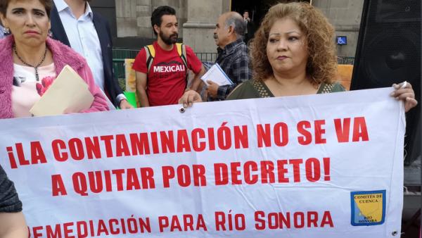 Río Sonora Grupo México presa derecho de participación