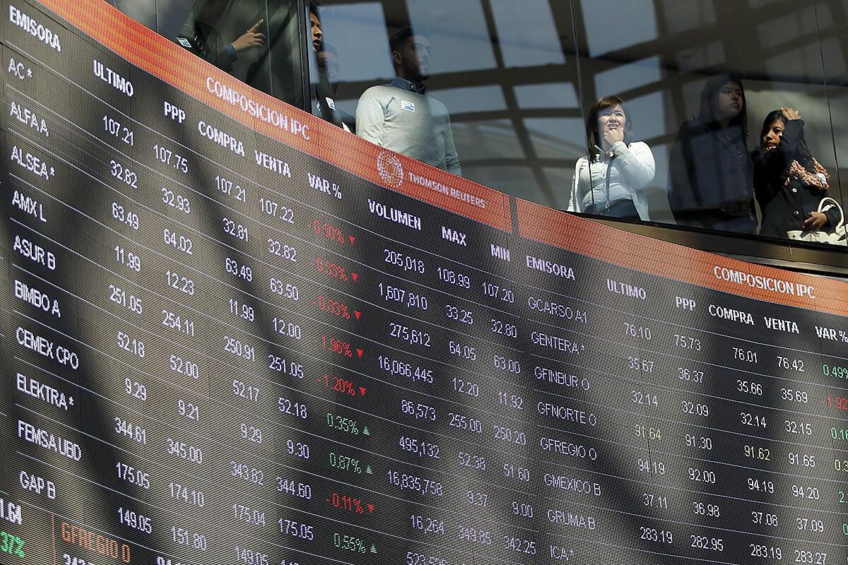 3 factores que explican duodécimo récord de Bolsa mexicana