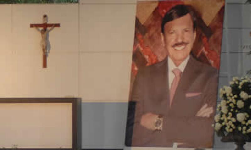 Roberto González Barrera murió el pasado 25 de agosto en Houston, Texas. (Foto: Notimex)