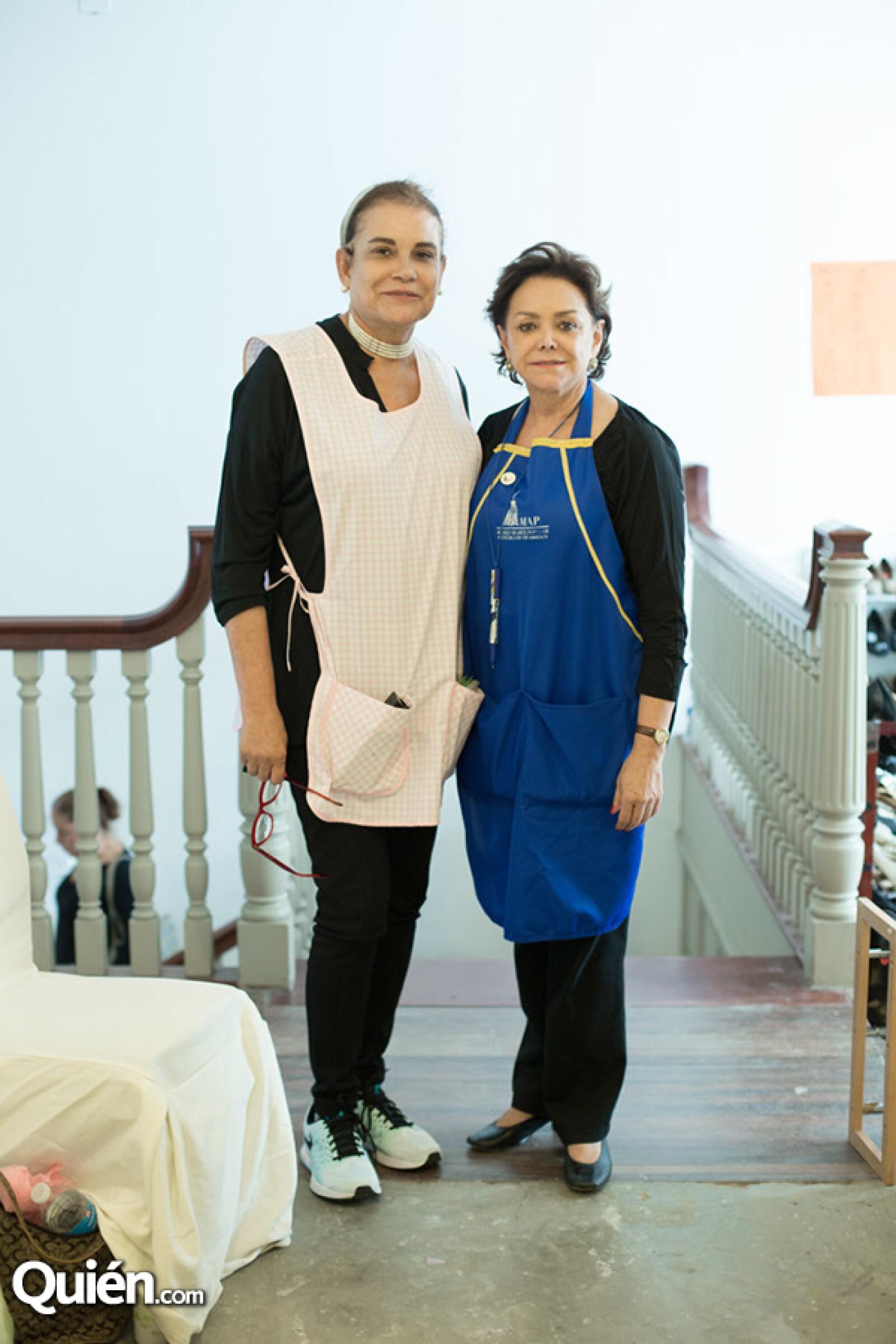 Maruza Suarez y Adriana Salinas