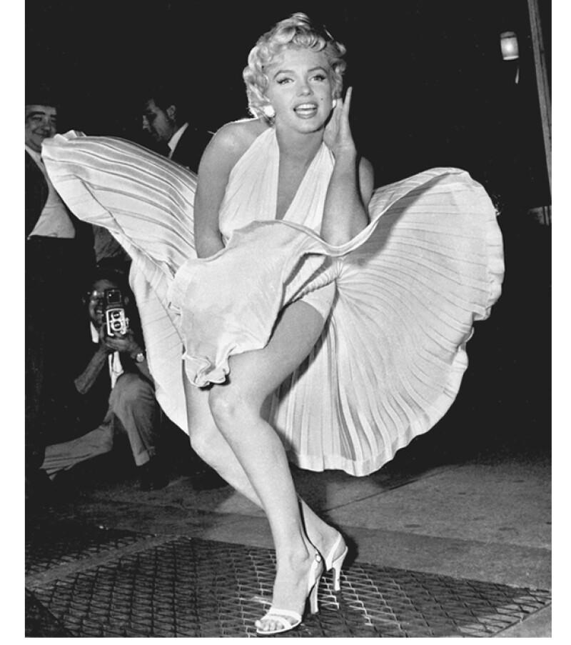 Esta imagen es quizas la más emblemática de Monroe.